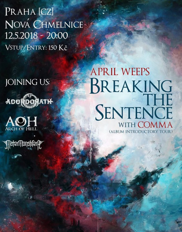 APRIL WEEPS: Breaking The Sentence