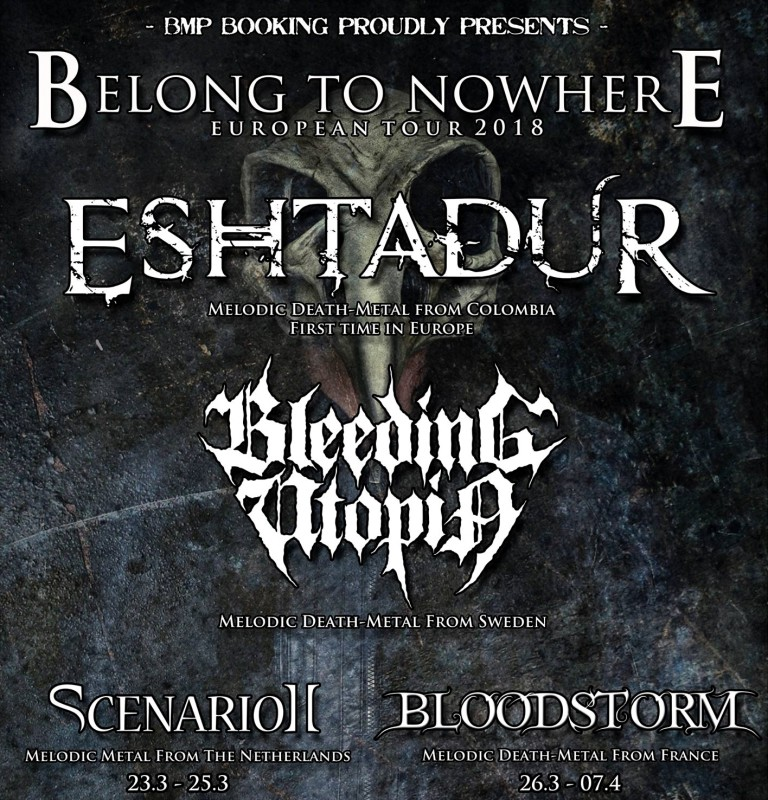 Belong To Nowhere Tour 2018