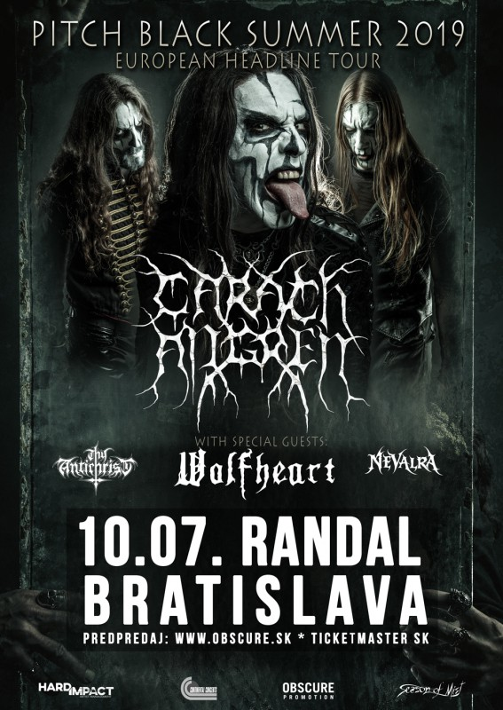 CARACH ANGREN: Pitch Black Summer 2019