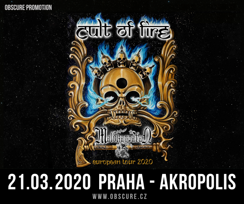 CULT OF FIRE: European tour 2020