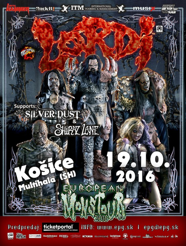 LORDI + supports