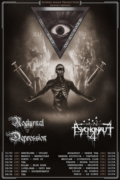 PSYCHONAUT 4 & NOCTURNAL DEPRESSION & support