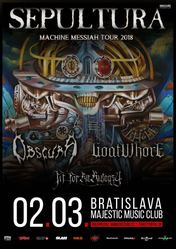 SEPULTURA: Machine Messiah Tour