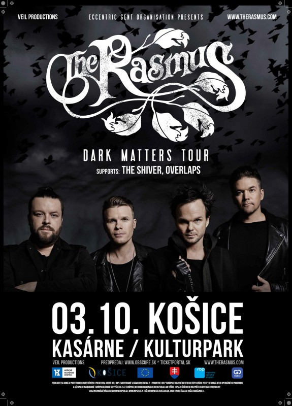 The RASMUS: Dark Matters Tour