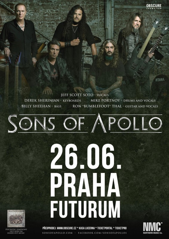 Do Prahy zavítají SONS OF APOLLO