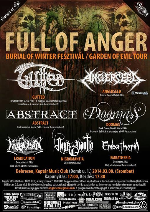 Full Of Anger: ABSTRACT on the Road