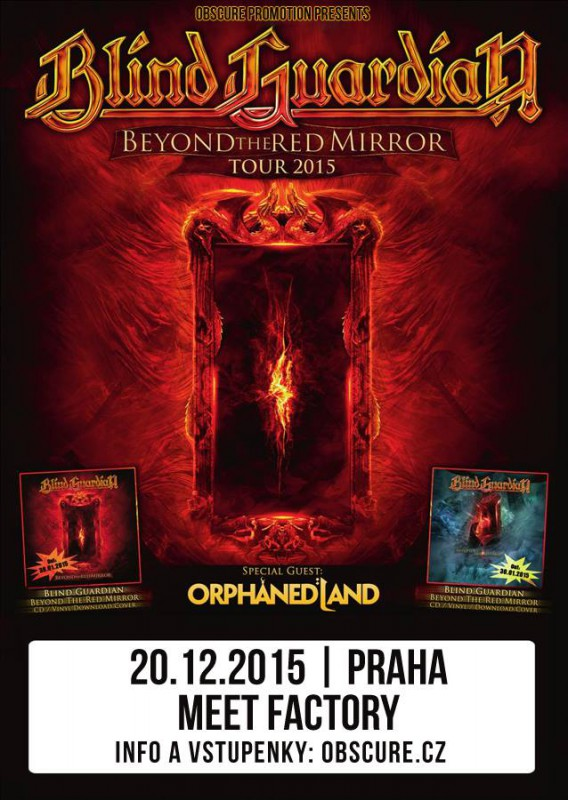 BLIND GUARDIAN, Orphaned Land (Fotoreport)