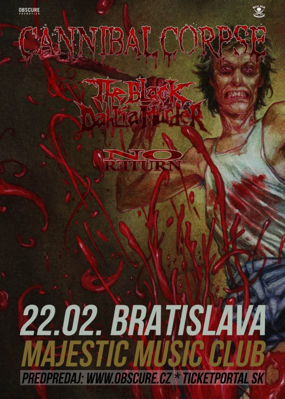 CANNIBAL CORPSE sa vrátili s The BLACK DAHLIA MURDER a NO RETURN