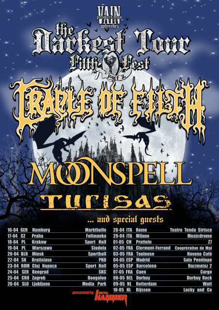 CRADLE OF FILTH - fotoreport