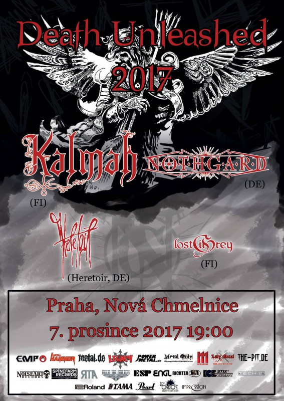 Death Unleashed 2017: KALMAH vs. NOTHGARD