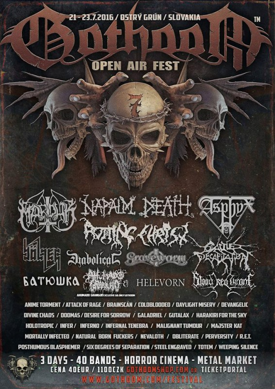 GOTHOOM Open Air Fest 2016