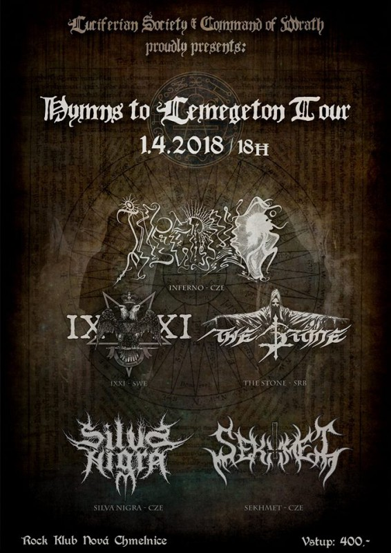INFERNO: Hymns to Lemegeton Tour