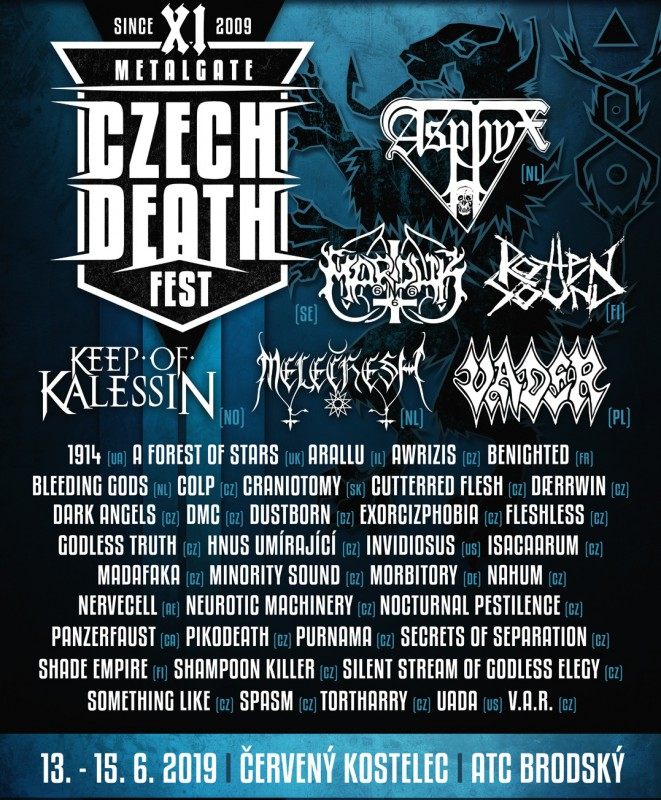 MetalGate Czech Death Fest XI