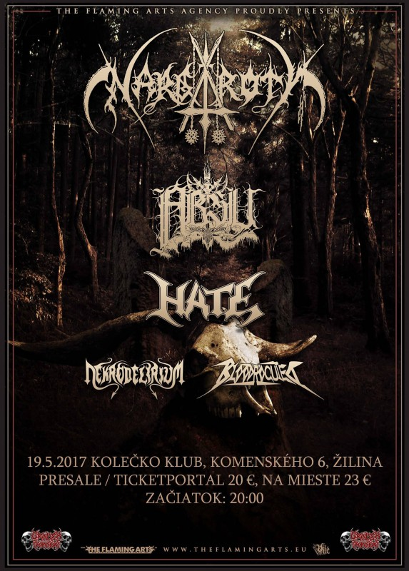 NARGAROTH, ABSU, HATE - fotoreport