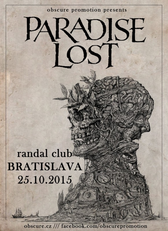 PARADISE LOST: The Plague Within Europe 2015