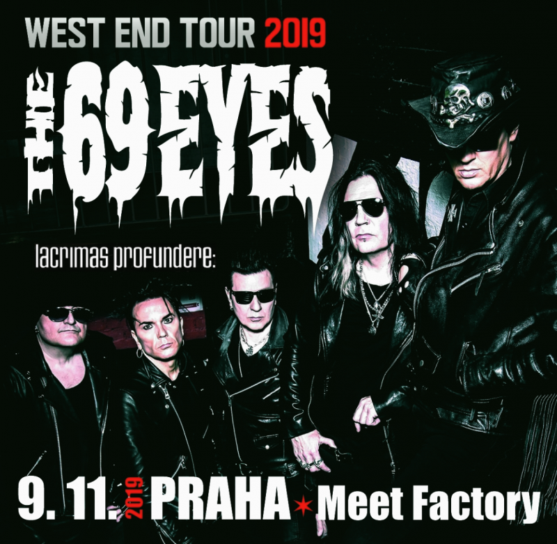 The 69 EYES predstavili v Prahe nový album